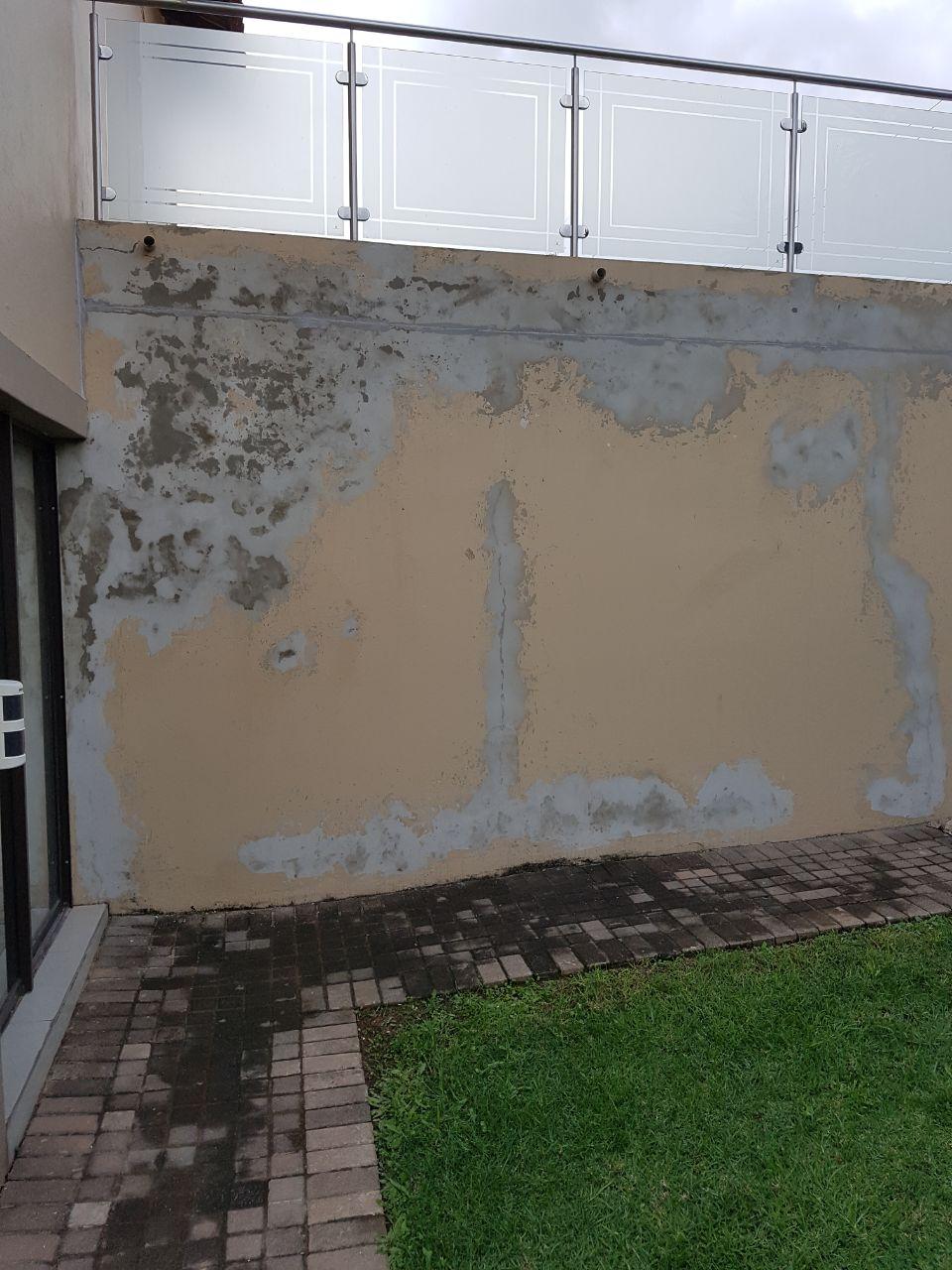 damp damaged wall repair